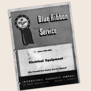 FARMALL-CUB-LO-BOY-TRACTOR-ELECTRICAL-EQUIPMENT-SERVICE-REPAIR-MANUAL-MAGNETO