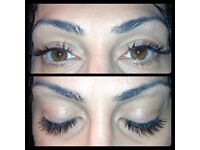 *Mobile eyelash extensions starting from £40 inc 2D-6D lashes and spray tan £15
