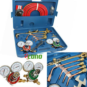 OXYGEN-ACETYLENE-WELDING-CUTTING-OUTFIT-TORCH-SET-GAS-WELDER-KIT-w-15FT-HOSES