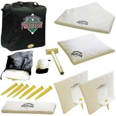 Baseball Softball Field-in-a-bag Throw Down Bases Set Equipment Portable