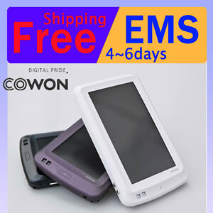 3-Colors-COWON-X7-120GB-4-3-Wide-LCD-Dvix-Bluetooth-Media-PMP-Super-MP3-Player