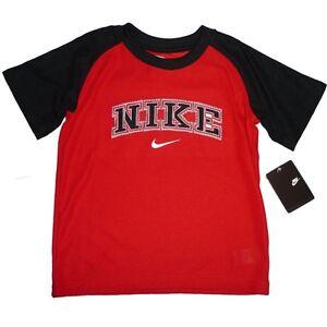 nike kinder sport marken t shirt junge neu boy 4t schwarz rot jungen kids 104 ebay. Black Bedroom Furniture Sets. Home Design Ideas