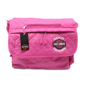 Harley-Davidson-Bar-Shield-Pink-Messenger-Bag-Tote