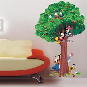 Choose-size-disney-Mickey-and-Friends-Decal-WALL-STICKER-Art-Home-room-Decor