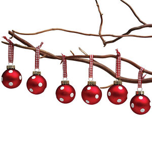 dotcomgiftshop-SET-6-MINI-RED-GLASS-BAUBLES-VINTAGE-CHRISTMAS-HANGING-DECORATION