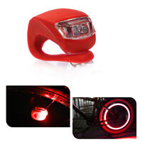 Bicycle Bike Safety LED Light - Red (Set of 2)