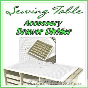 BonEful-NEW-Sewing-CRAFT-Room-TABLE-Machine-Stamp-Scrapbook-Quilt-Storage-Drawer