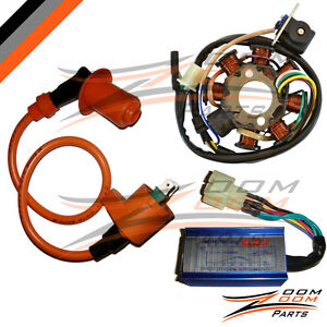 NEW-GY6-150-Magneto-Stator-Coil-Performance-CDI-Box-Ignition-Coil-150cc-Go-Kart