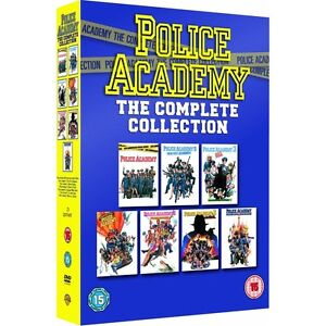Police Academy Films 1-7 (7 Disc) Dvd Box Set New