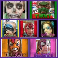 Paula's Fantasy Faces:  Face Painting Service