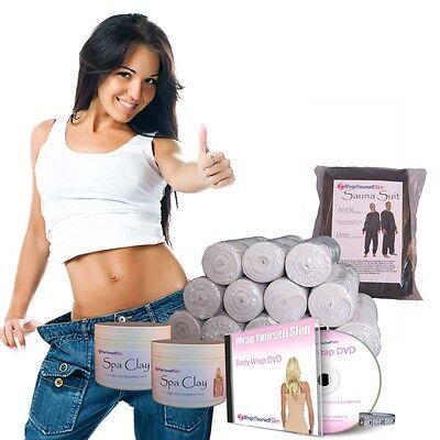 Home Body Wrap Kit from WrapYourselfSlim.com.au