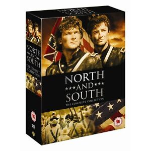 North and South Complete Dvd Box Set New