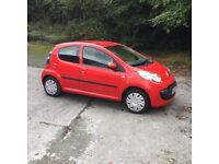 Citroen C1 Rhythm '08 plate 5dr in red ideal first car cheap tax bargain