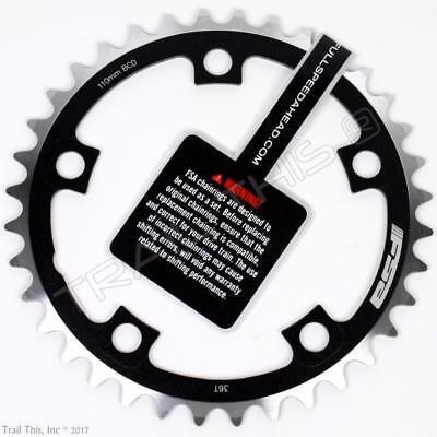 FSA Pro Road Bike Inner Chainring 36T x 110mm N11 fits 10/11-speed SRAM/Shimano