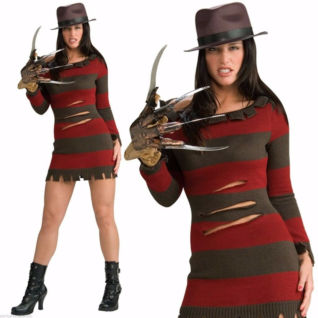 Fancy Dress Miss Krueger Costume/Outfit/Fancy Dress # £25 *BRAND NEW IN PACKAGING* RUNCORN