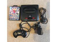 Sega Mega Drive 2 Console - with Mega game I