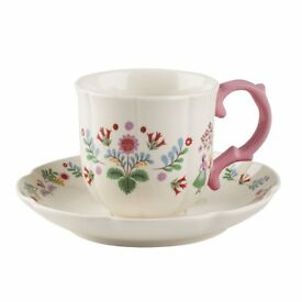 BRAND NEW - Katie Alice Folk Festival cup and saucer