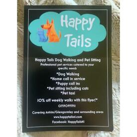 Happy Tails NI Dog Walking and Pet Sitting