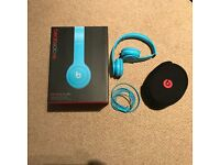 Beats Solo Headphones (Blue)