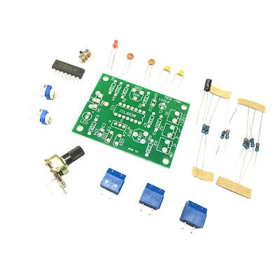 Function Signal Generator Unsoldered Diy Kit Sine Square Triangle Wave