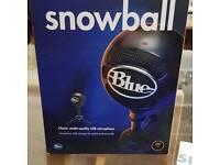 Snowball Blue omnidirectional/cardioid USB microphone