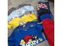 6 Tshirt's and shorts
