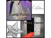 *** Wedding Packages *** Photo Booths *** LED Dance Floors *** Light Up LOVE Letters *** Sweet Carts