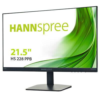 Hannspree HS228PPB - 54,61 cm (21,5 Zoll), LED, Lautsprecher, DisplayPort, HDMI,