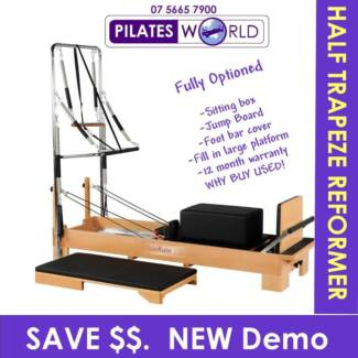 NEW DEMO PILATES REFORMER HALF TRAPEZE- SALE NOW ON Helensvale Gold Coast North Preview