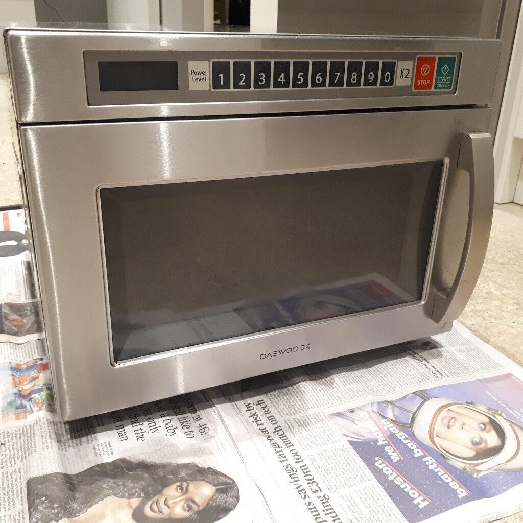 Daewoo Commercial Microwave 1850w | in Sudbury, Suffolk | Gumtree