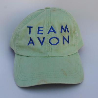 (TEAM AVON AVON WALK for BREAST CANCER Adjustable Strapback Dad Hat Baseball Cap)