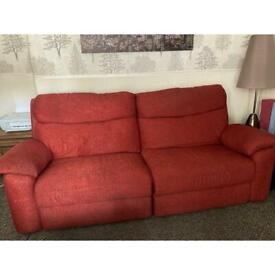2 x3seater sofas in immaculate condition, house move forces sale