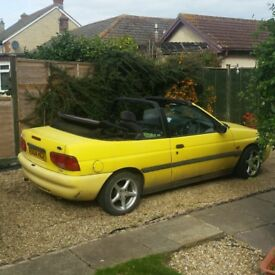 Ford escort calypso convertible £400