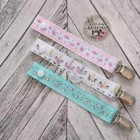 🌸 Handmade Ribbon Dummy Clips 🌸