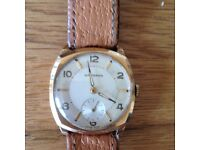 Mans garrard 1957 gold watch