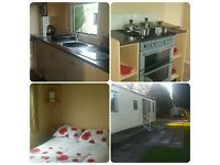 ☆Deluxe 3bedroom Caravan for hire at Haggerston Castle.