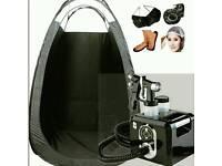New PRO spray tan kit-machine-tent-gun