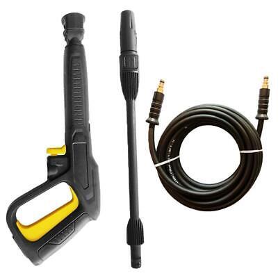 Pressure Washer Hose Water Trigger Gun Turbo Nozzle Set For Karcher K1-k7