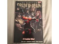 Marvel spider man comic book a troubled mind