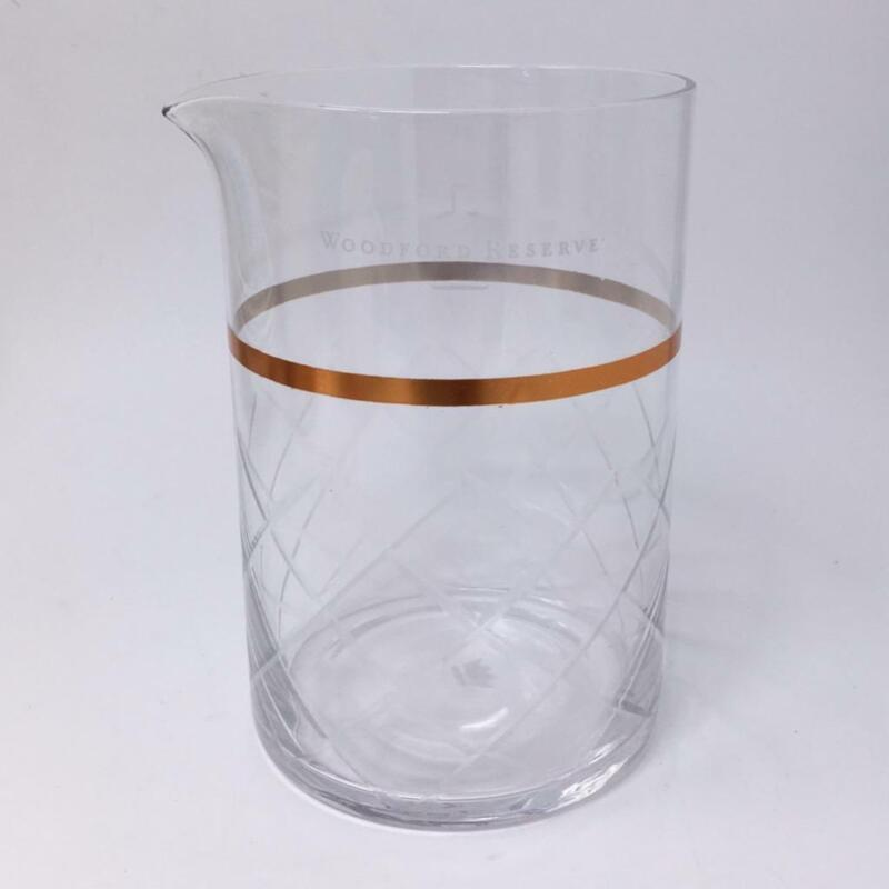 """Woodford Reserve Bourbon Cocktail Mixing Pitcher 6"""" Glass"""