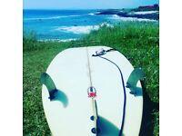 Surfboard and wetsuite free lap 6ft surfborad billabong wetsuite