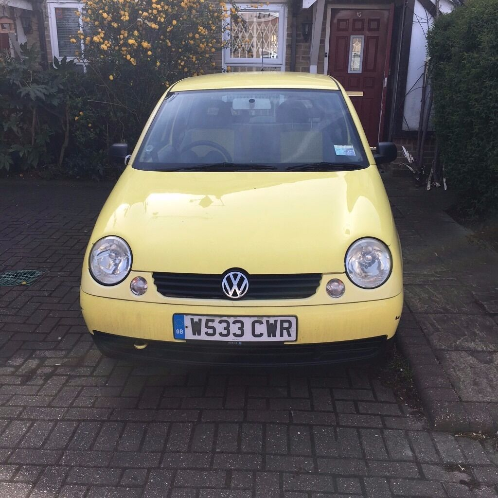yellow vw lupo for sale 700 ono in southwark london gumtree. Black Bedroom Furniture Sets. Home Design Ideas