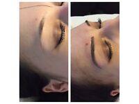 Semi-permanent eyebrows. (Microblading and micropigmentation)