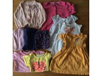 Spring / summer girls clothes bundle size 12 - 18 months