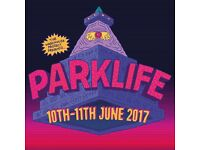 2x VIP PARKLIFE WEEKEND TICKETS AND TRAVEL PASS