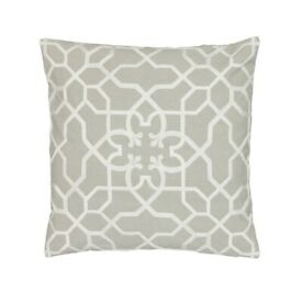 NEW Sanderson Options Sycamore Cushion 40cm x 40cm in Stone-RRP £50