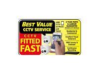 CCTV Installation Full HD 1080p / Burglar Alarms / Door Intercom Supply and Fit