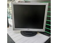 LG VGA MONITOR USED WITH RECEIPT