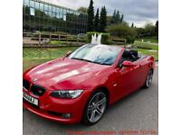 Bmw 320d Convertible Sports Edition Diesel SAT NAV, HEATED LEATHER, 60+ MPG, not Audi A5, Audi A4,