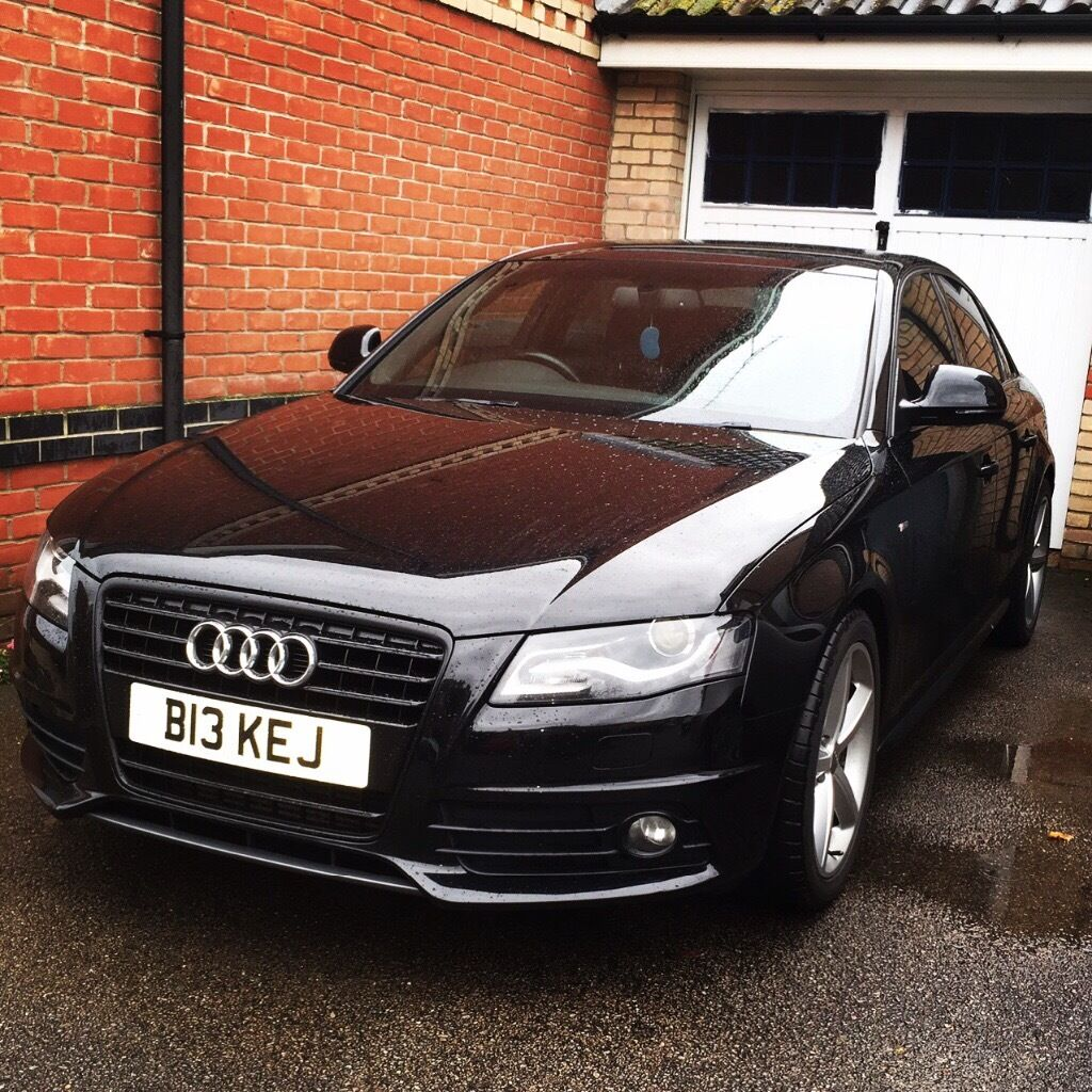 2009 audi a4 s line 1 8tfsi black edition in norwich norfolk gumtree. Black Bedroom Furniture Sets. Home Design Ideas